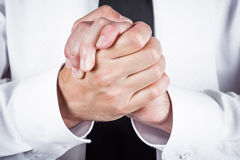 Friendly gesture Royalty Free Stock Photo
