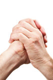Friendly gesture hands Royalty Free Stock Photo