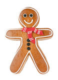 Friendly Gingerbread Man Stock Images