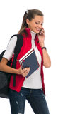 Friendly girl student Stock Image