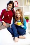 Friendly girls Royalty Free Stock Photo