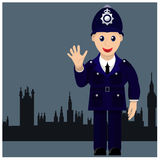 Friendly and good cop Royalty Free Stock Photos