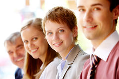 Friendly group Royalty Free Stock Photos