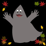 Friendly Halloween ghost Royalty Free Stock Photos