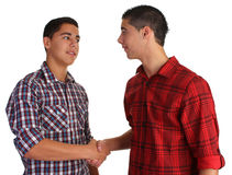 Friendly handshake Royalty Free Stock Images