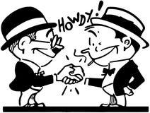 Friendly Handshake Royalty Free Stock Photo