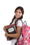 Friendly Hispanic College student Stock Photo