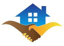 Friendly home vector illustration