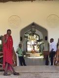 Friendly hotel staff. Friendly service staff in the province to Zanzibar. Travel to Zanzibar Royalty Free Stock Photos