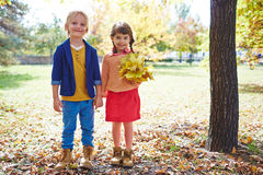 Friendly kids Royalty Free Stock Photo