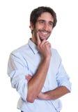 Friendly latin guy with beard Stock Photo