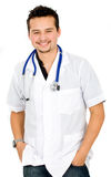 Friendly male doctor Royalty Free Stock Photos