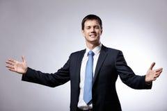 Friendly man Stock Photos