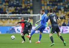 Friendly match Ukraine vs Wales in Kyiv, Ukraine Stock Images