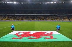 Friendly match Ukraine vs Wales in Kyiv, Ukraine Royalty Free Stock Photo