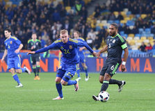Friendly match Ukraine vs Wales in Kyiv, Ukraine Stock Images