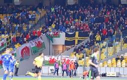 Friendly match Ukraine vs Wales in Kyiv, Ukraine Royalty Free Stock Image