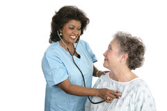 Friendly Medical Care Stock Photo