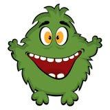 Friendly monster. Vector funny monster stock illustration