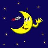 Friendly mr moon Stock Photos