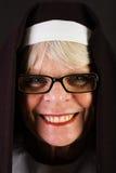 Friendly Nun Stock Photo