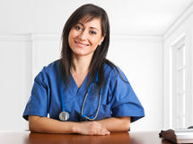 Friendly nurse Royalty Free Stock Image