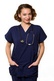 Friendly nurse Stock Photography