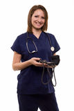 Friendly nurse Royalty Free Stock Image
