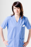 Friendly nurse Royalty Free Stock Photos