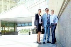 Friendly partners Stock Photo
