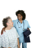 Friendly Patient Care Stock Photography