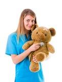 Friendly Pediatrician Stock Photos