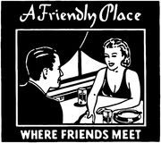 A Friendly Place Stock Photo