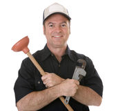Friendly Plumber Stock Photos