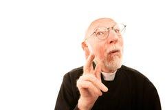 Friendly Priest Royalty Free Stock Photos