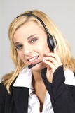 Friendly receptionist Royalty Free Stock Photography