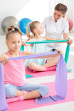 Friendly rehabilitation facility for children Royalty Free Stock Image