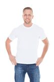 Friendly relaxed young man Stock Photography