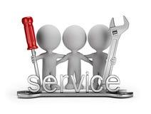 Friendly repair team Stock Photos