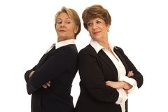 Friendly Rival Business Women Royalty Free Stock Photo