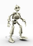 Friendly robot Stock Images