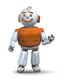 Friendly robot ready to help and serve 3 Stock Image