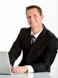 Friendly sales representative Royalty Free Stock Image