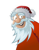 Friendly santa claus, illustration Royalty Free Stock Photos