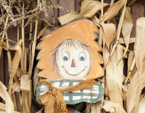 Friendly scarecrow Stock Photography