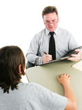 Friendly School Guidance Counselor Royalty Free Stock Image