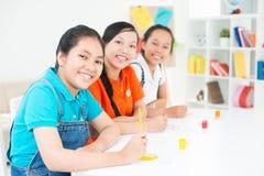 Friendly schoolmates Stock Photography