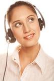 Friendly secretary Stock Photo