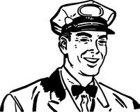 Friendly Service Man 3 Royalty Free Stock Image