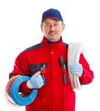 Friendly Serviceman Stock Photography